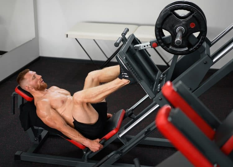 Leg Press Machine Training
