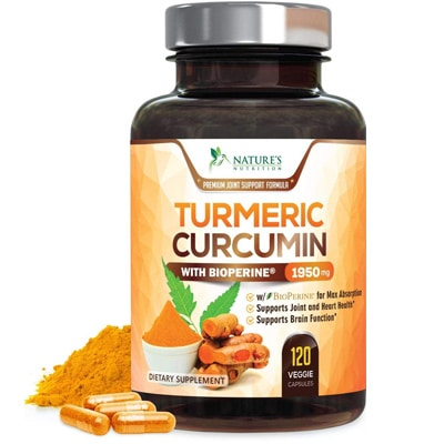 Nature S Nutrition Turmeric Curcumin