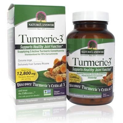Natures Answer Turmeric 3