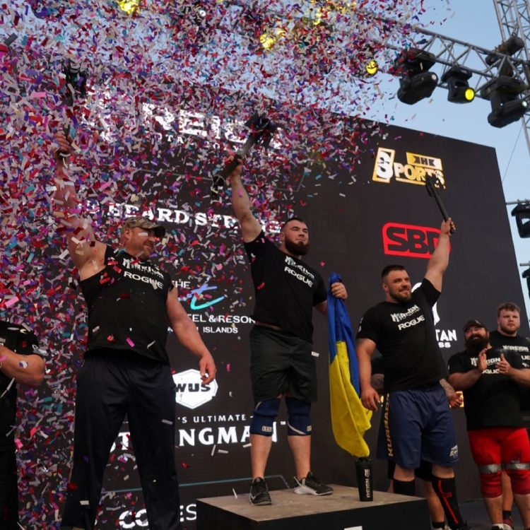 Oleksii Novikov Victorious at Ultimate Strongman