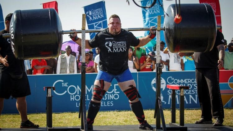 Strongman Squats