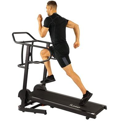 Sunny Health Fitness Manual Treadmill