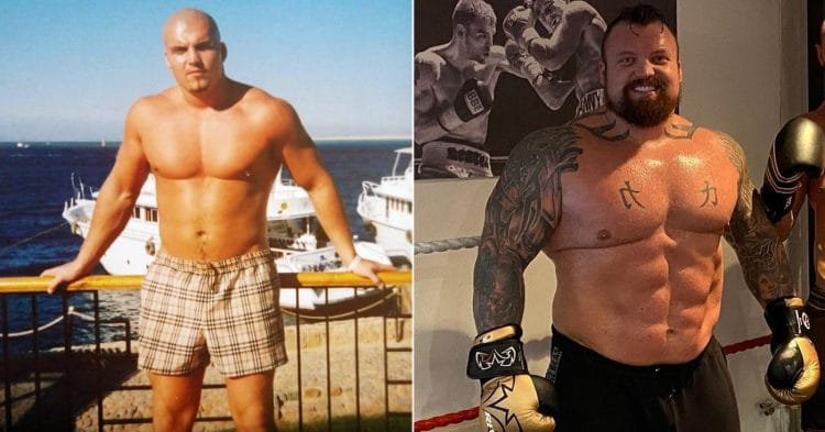 Young Eddie Hall