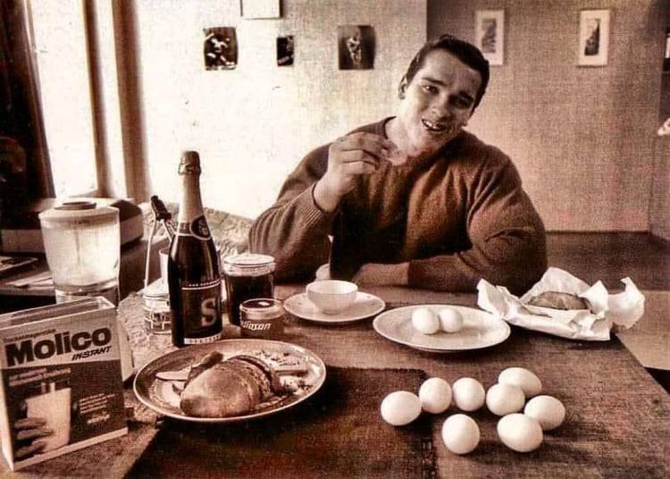 Arnold Schwarzenegger Breakfast