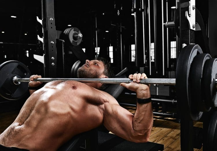 Barbell Incline Press Exercise