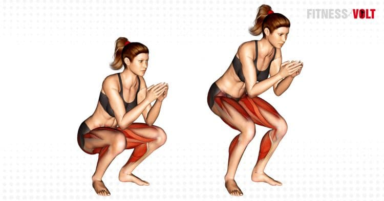 Frog Squat Exercise
