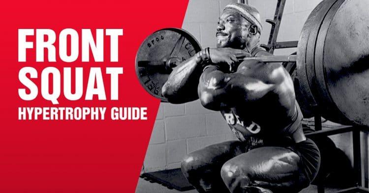 Front Squat Hypertrophy Guide