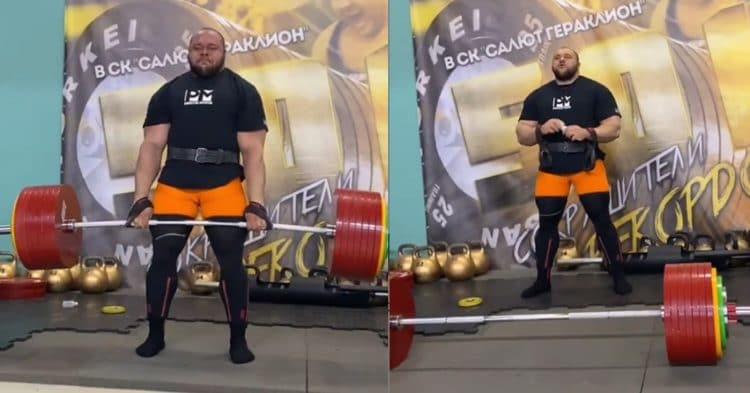 Ivan Makarov Deadlift