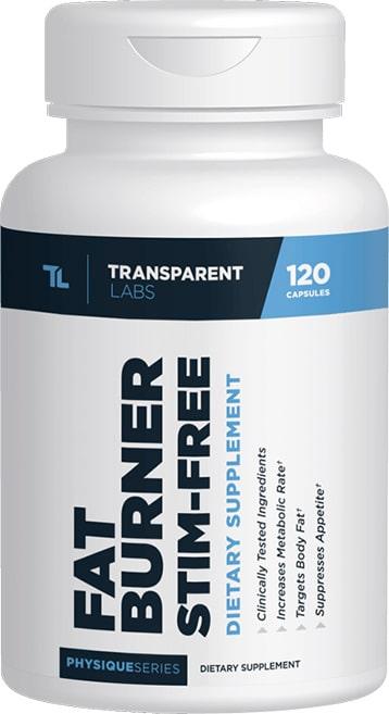 Transparent Labs Stim Free Fat Burner