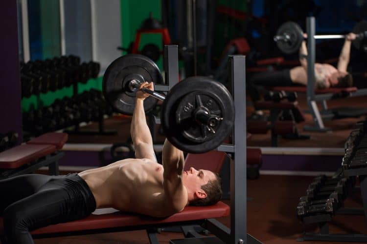 Bench Press With Wide Grip
