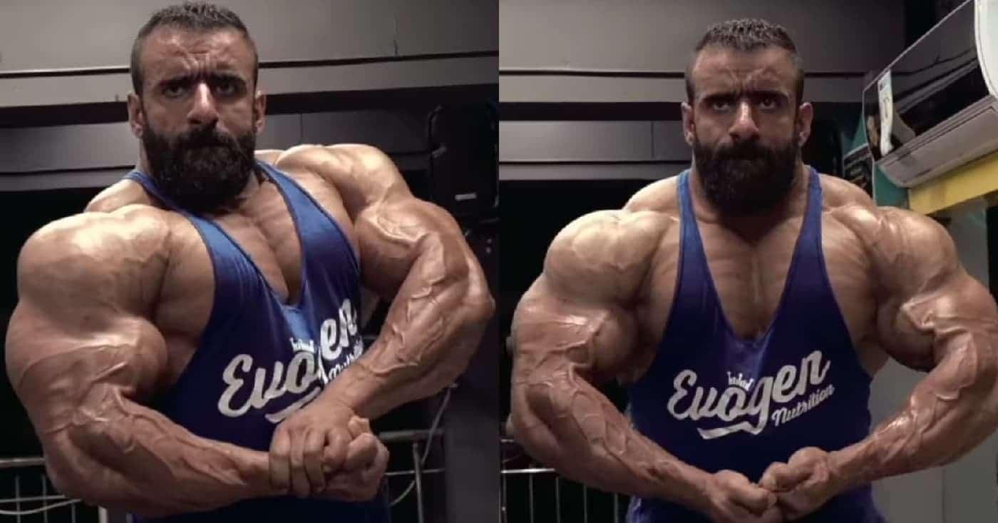 Hadi Choopan Looks Olympia Ready In Recent Posing Video – Fitness Volt