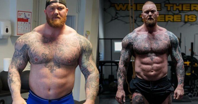 Hafthor Bjornsson Weight Loss Transformation