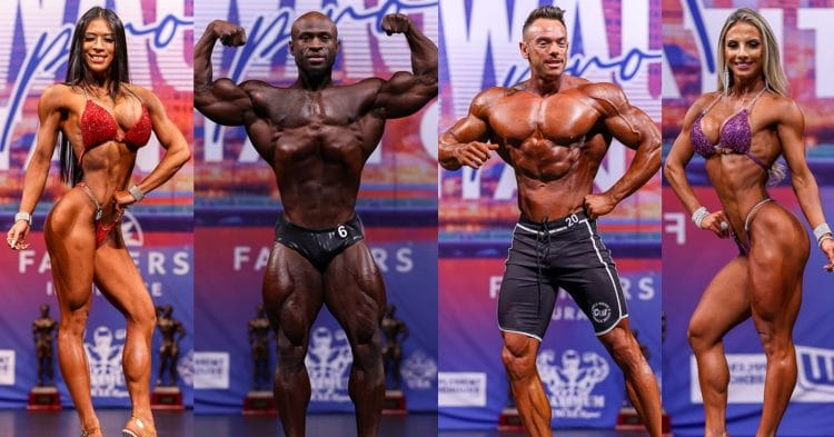 IFBB Milwuakee Pro 2021 Results