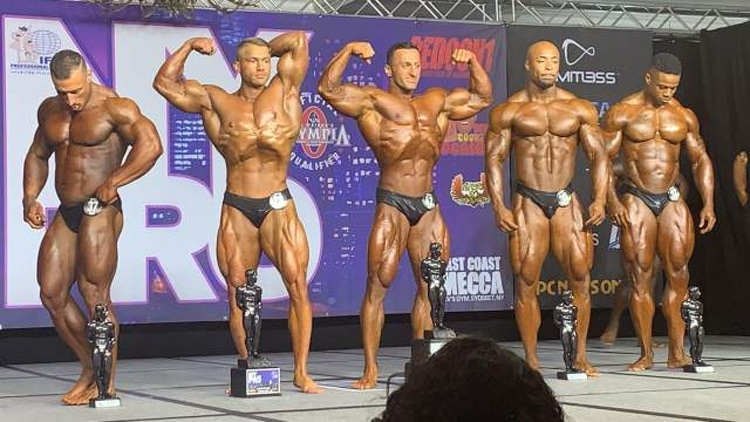 IFBB NY Pro Classic Physique Top 5