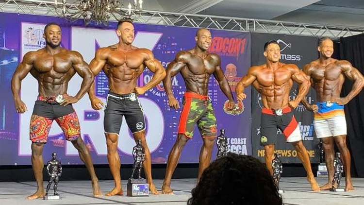 Ny Pro Men Physique Top 4