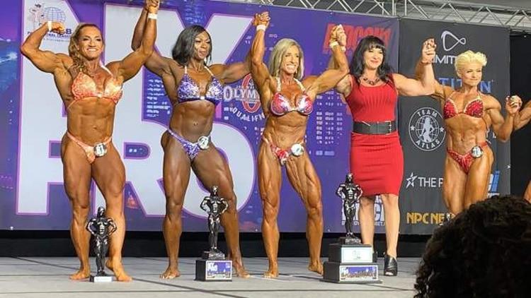 NY Pro Women's Bodybuilding Winners