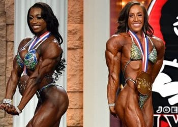 Girl in world most muscular the Top 10