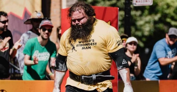 2021 World S Strongest Man Day One Results