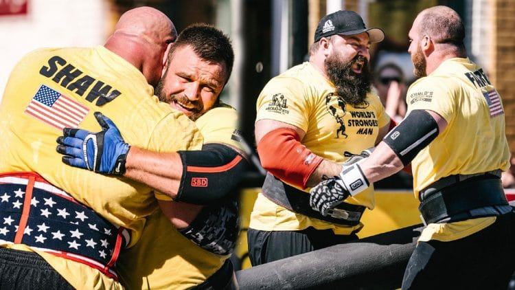 2021 Worlds Strongest Man Finalists Revealed