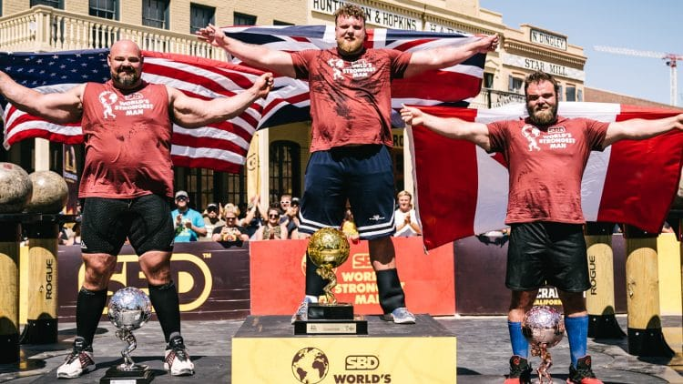 2021 World's Strongest Man Results