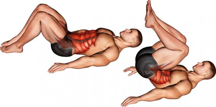 Bent Knee Hip Raise Muscles Worked