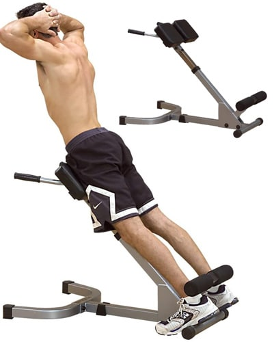 Body-Solid 45-Degree Hyperextension Bench