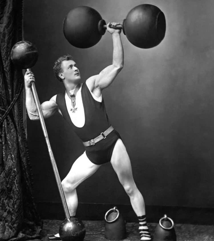 Bodybuilder Eugen Sandow