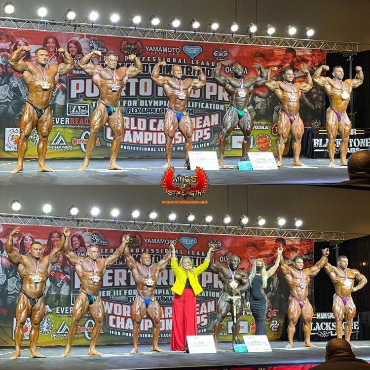 Puerto Rico Pro Men's Bodybuilding Winners