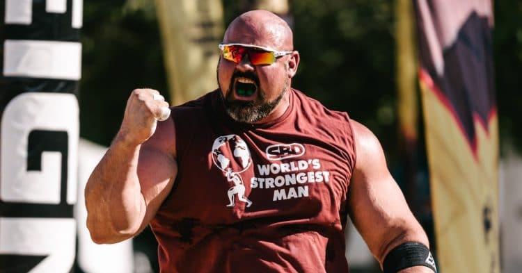Brian Shaw 2021 World S Strongest Man