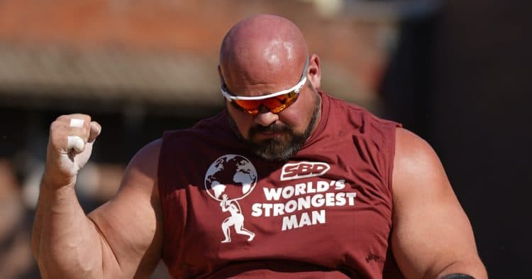 Brian Shaw World Record 2021 World S Strongest Man