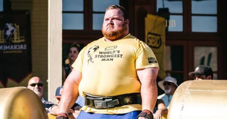 Chris Van Der Linde 2021 World's Strongest Man