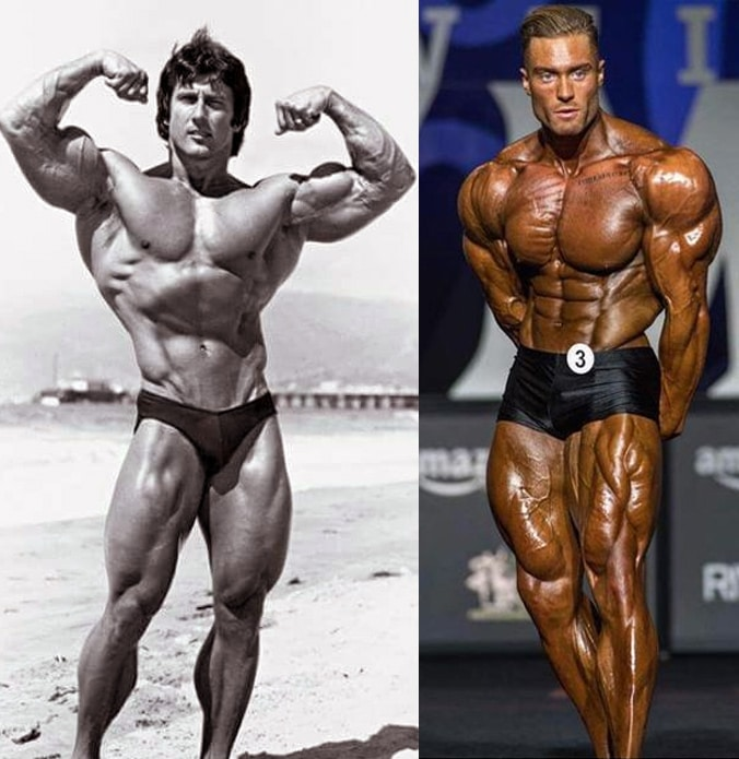 Frank Zane And Chris Bumstead
