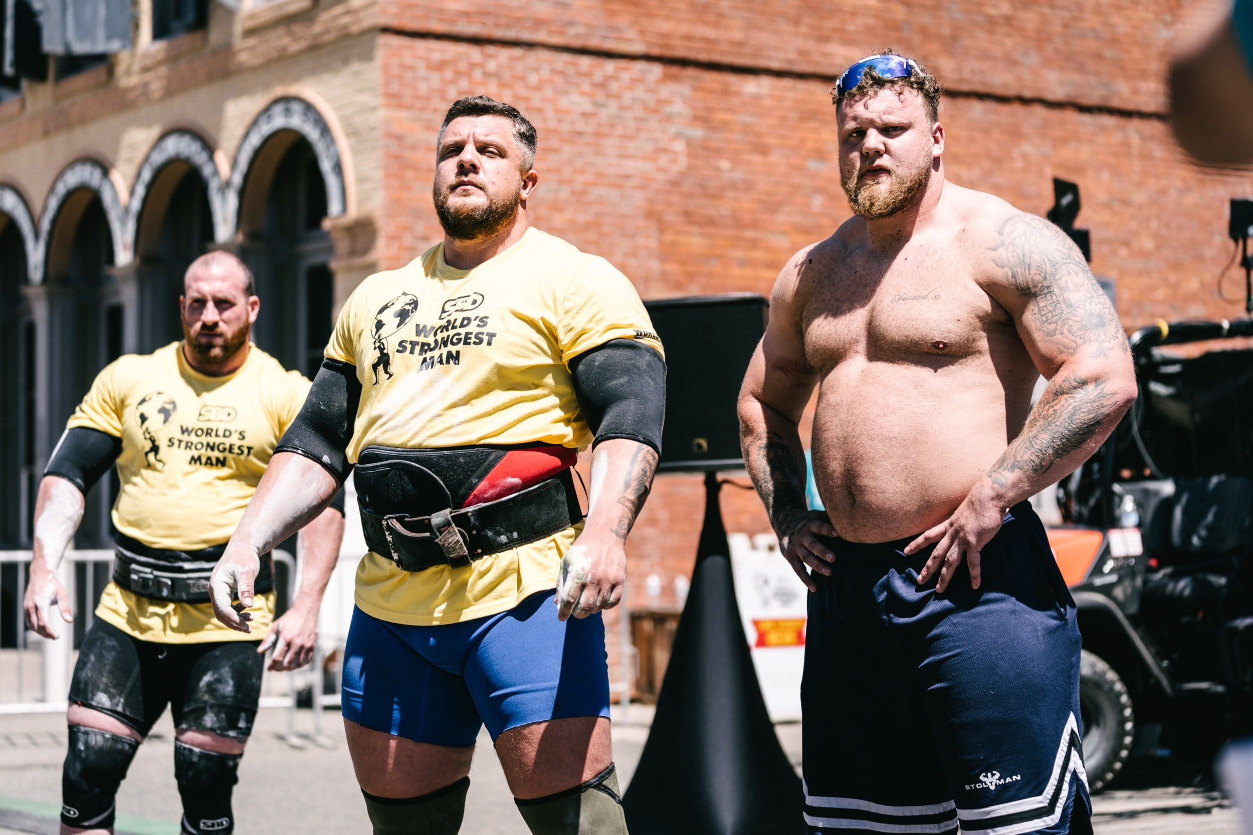Kevin Faires Usa Sbd Worlda€™s Strongest Man 2021 Day 1