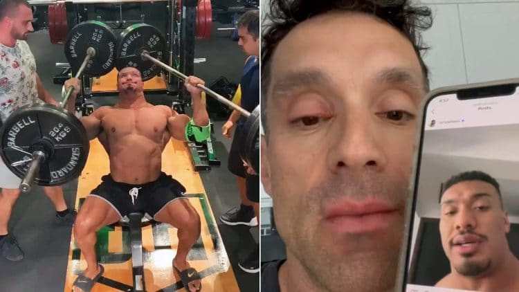 Larry Wheels Greg Doucette Fake Weights Accusation