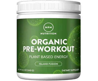 Mrm Organic Pre Workout