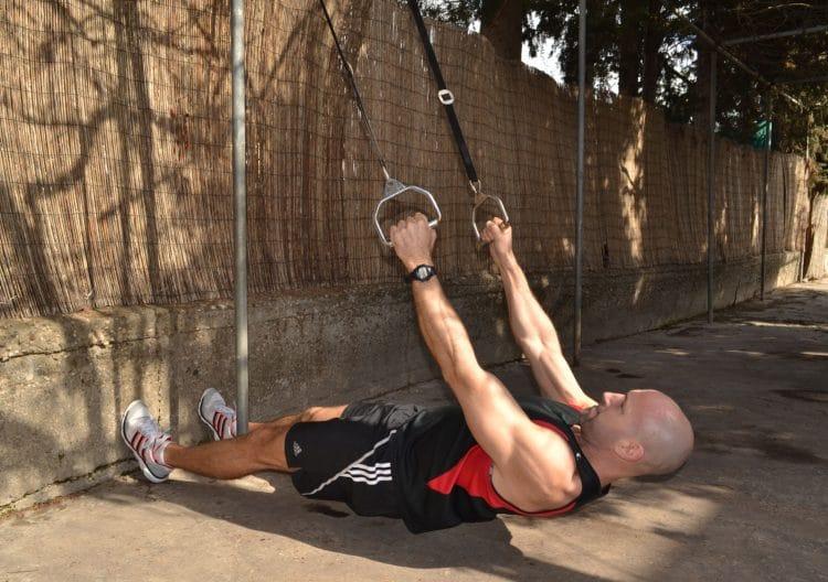 Suspension Trainer Australian Pull Ups
