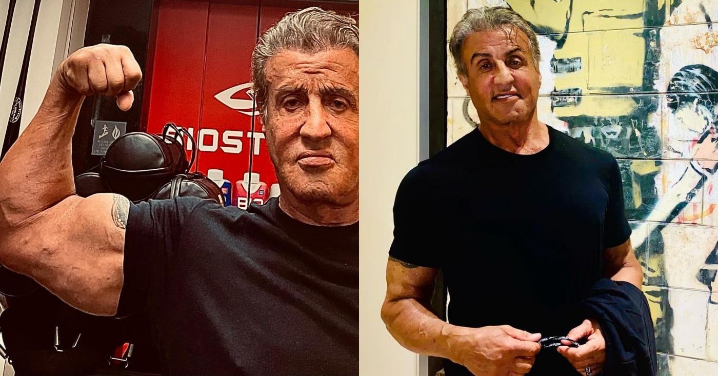 Workout sylvester stallone young Sylvester Stallone: