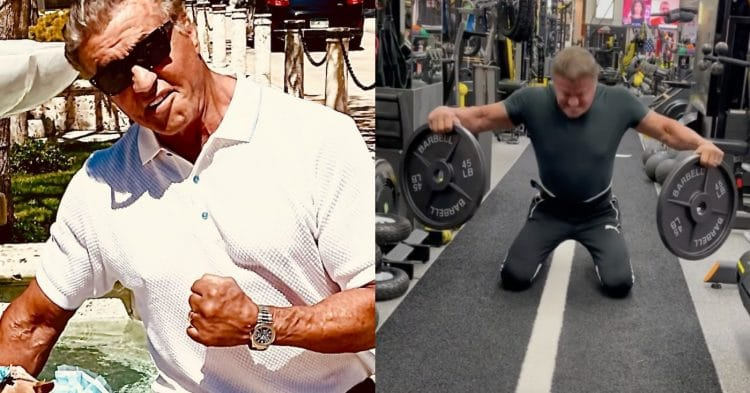 Sylvester Stallone Fake Weights