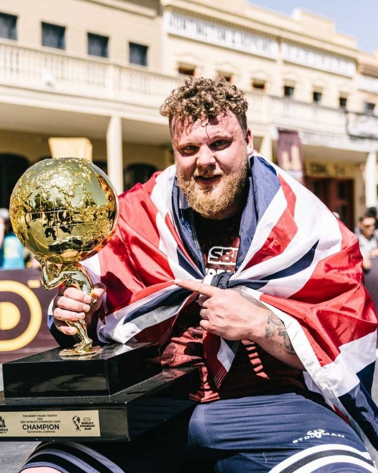Tom Stoltman Wins Wsm 2021