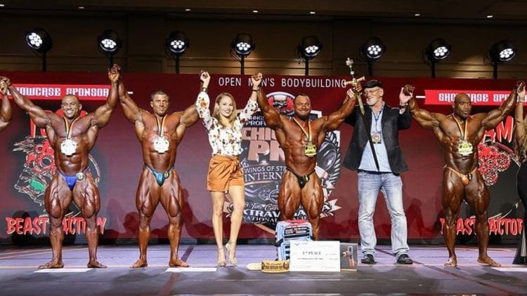 2021 IFBB Chicago Pro Results