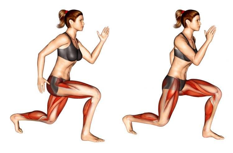 Jump Split Muscles Worked