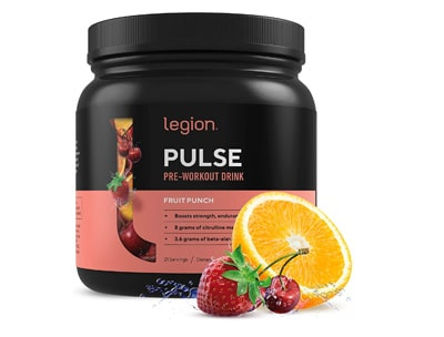 Legion Pulse Best Natural Preworkout