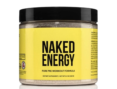 Naked Energy – All Natural Pre Workout