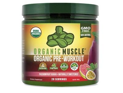 Organic Muscle Pre Workout Powder