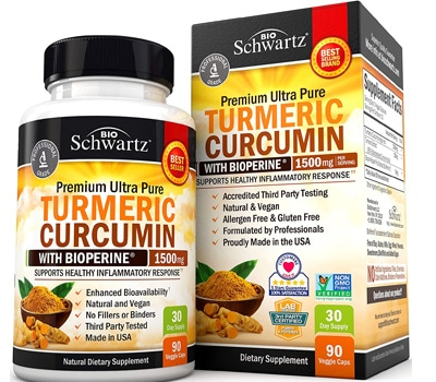 Schwartz Turmeric Curcumin