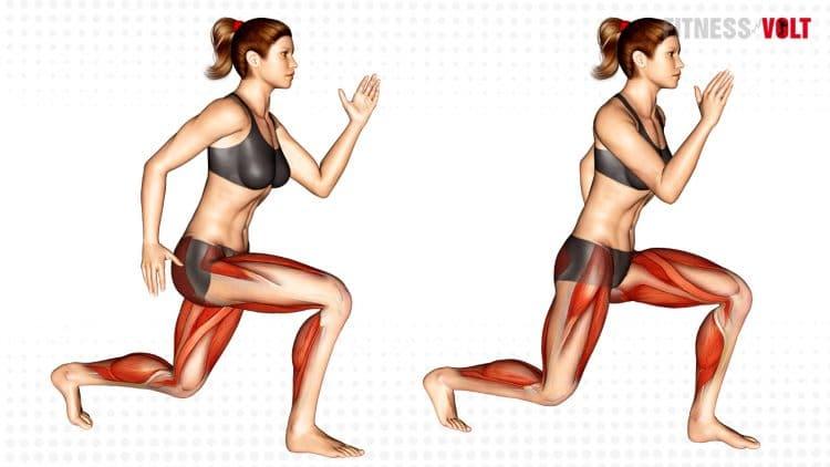 Split Jump Exercise