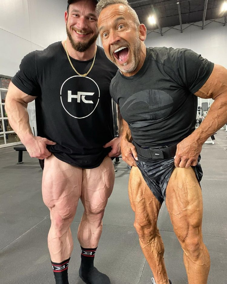 Hunter And Lee Labrada