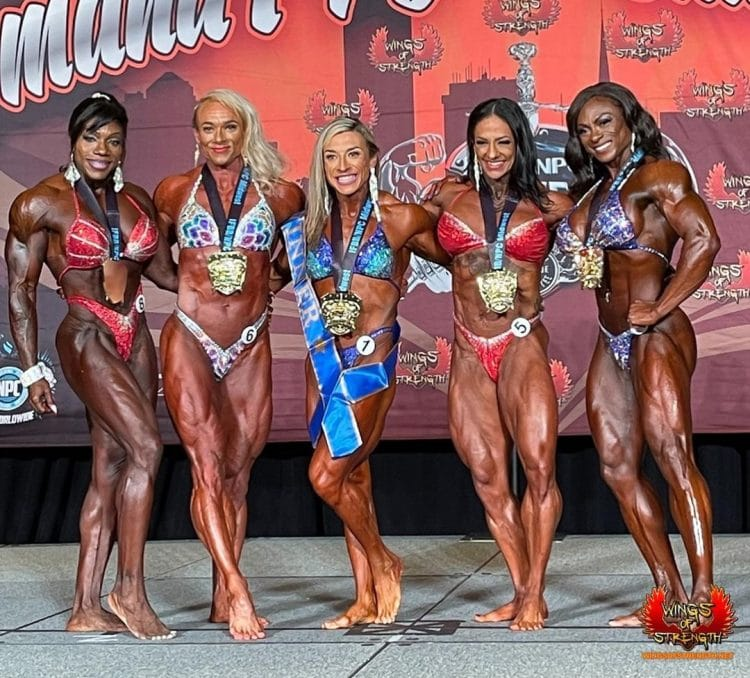Omaha Pro Women's Bodybuilding Winners