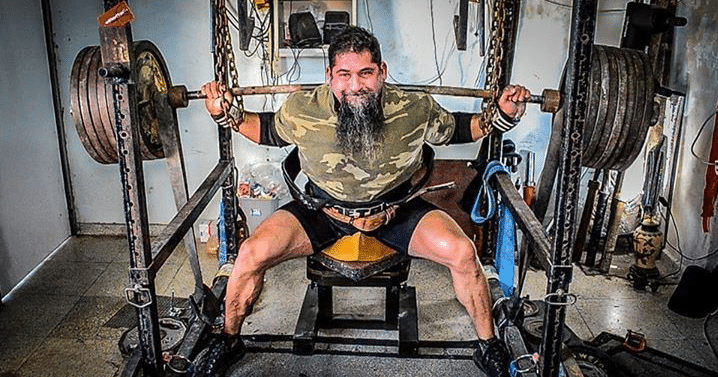 Wide Stance Box Squats