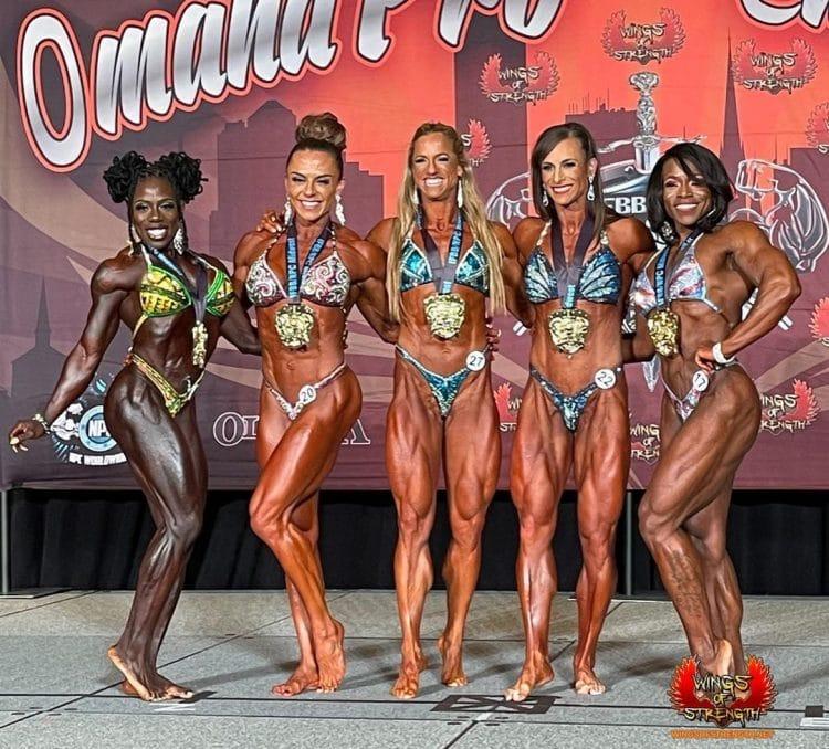 Women's Physique Winners